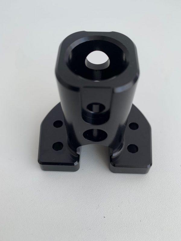 Rothmans angled aluminium steering hub