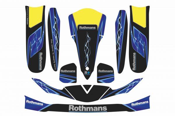 Rothmans decal set for karting