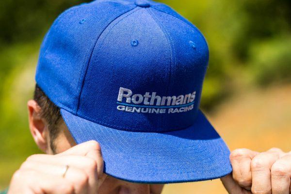 Rothmans genuine racing snapback hat